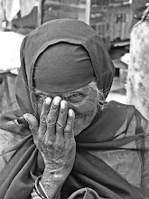 Photo: I see you a beggar in the streets of Hyderabad, India.