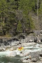 Photo: Whitewater rafting on the Stanislaus River, CA.