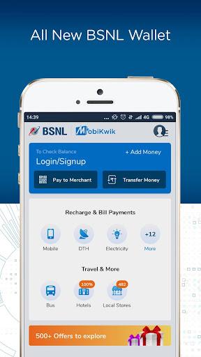 BSNL Wallet- Recharge,Bill Payments,Money Transfer screenshot 2