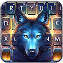 Dreamcatcher Night Wolf Keyboard Theme icon