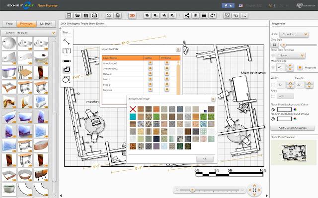 floor plan creator chrome.  ExhibitCore Floor Planner Chrome Web Store