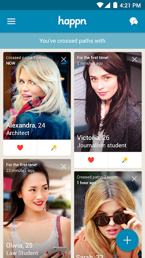 happn – Local dating app app (apk) free download for Android/PC/Windows screenshot