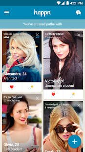 happn- screenshot thumbnail