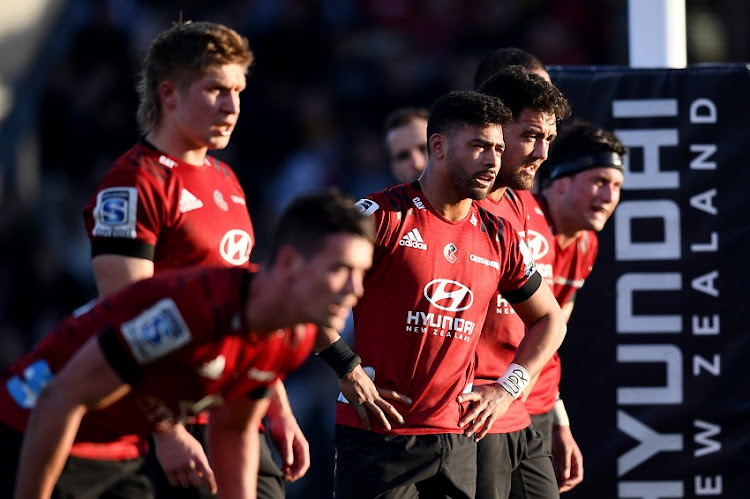 The Canterbury Crusaders beat the Wellington Hurricanes 30-27 in a Super Rugby Aotearoa match on Sunday