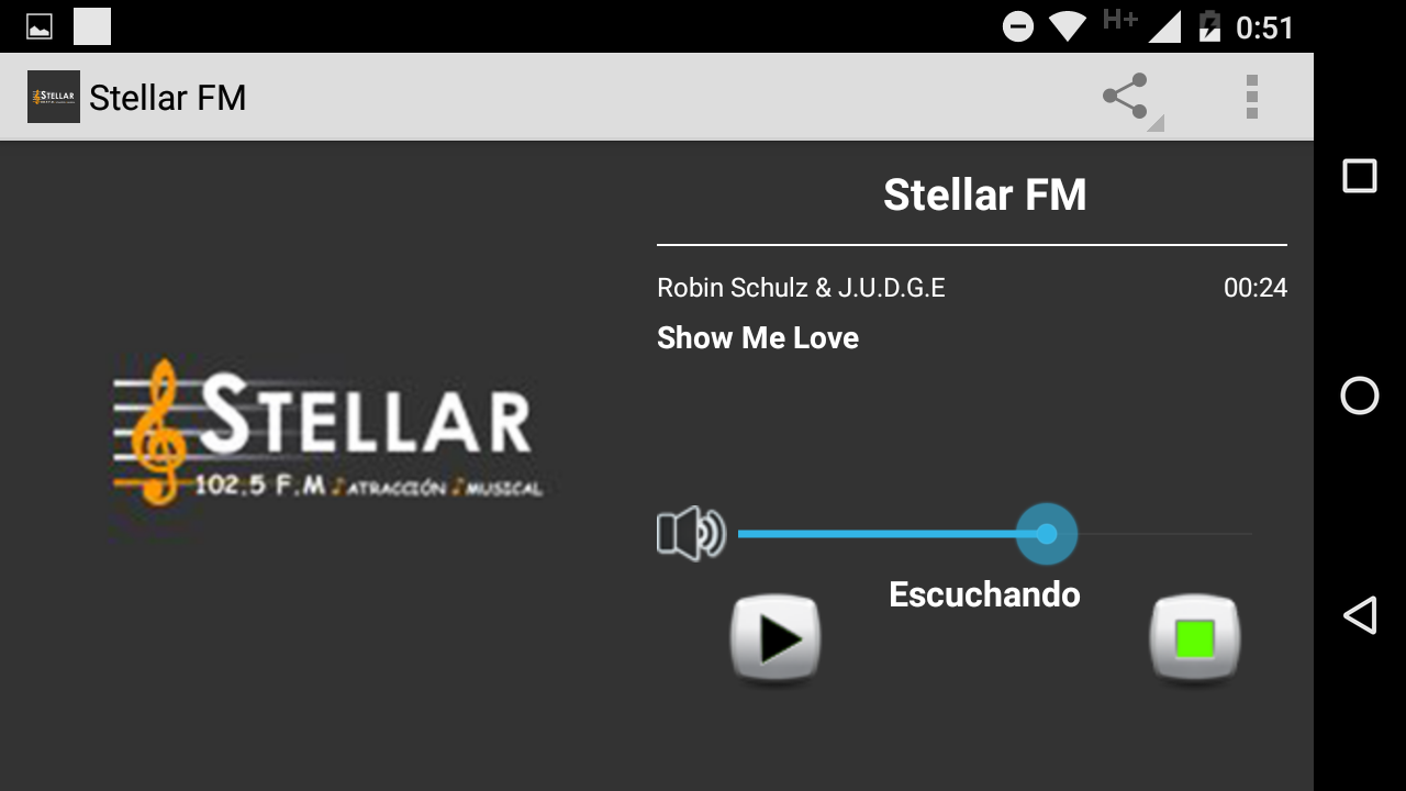 Radio Stellar FM- screenshot