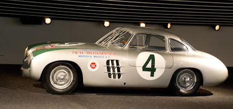 Photo: Mercedes Race car from the 50s.