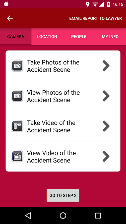 CHEN Law Personal Injury App- screenshot