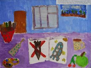 Photo: Якушева Наташа. 9 лет. Пусть всегда будет мир. Студ. Натальи Ланге. Израиль. г. Беэр-Шева
