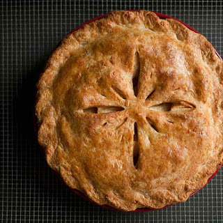 Cheddar Crust Apple Pie.