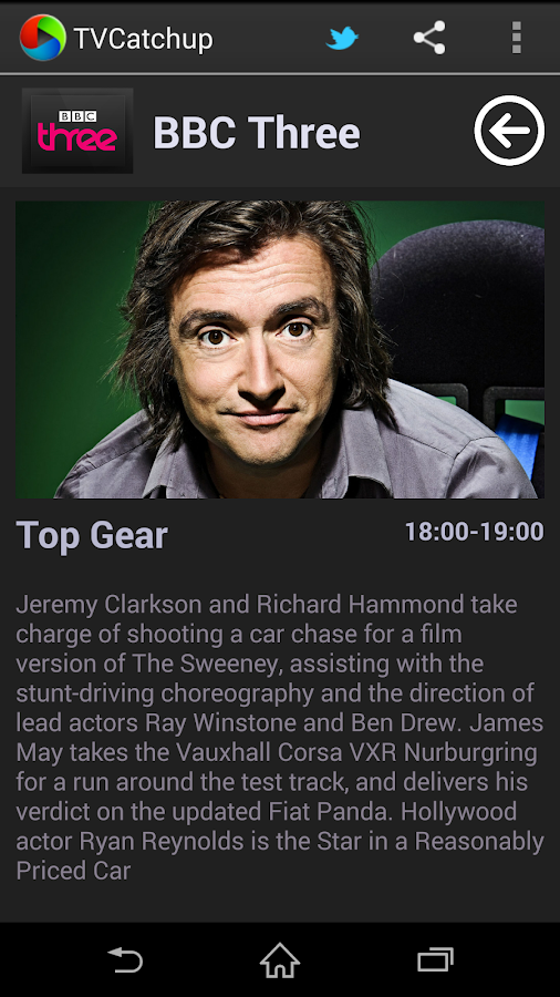 TVCatchup- screenshot