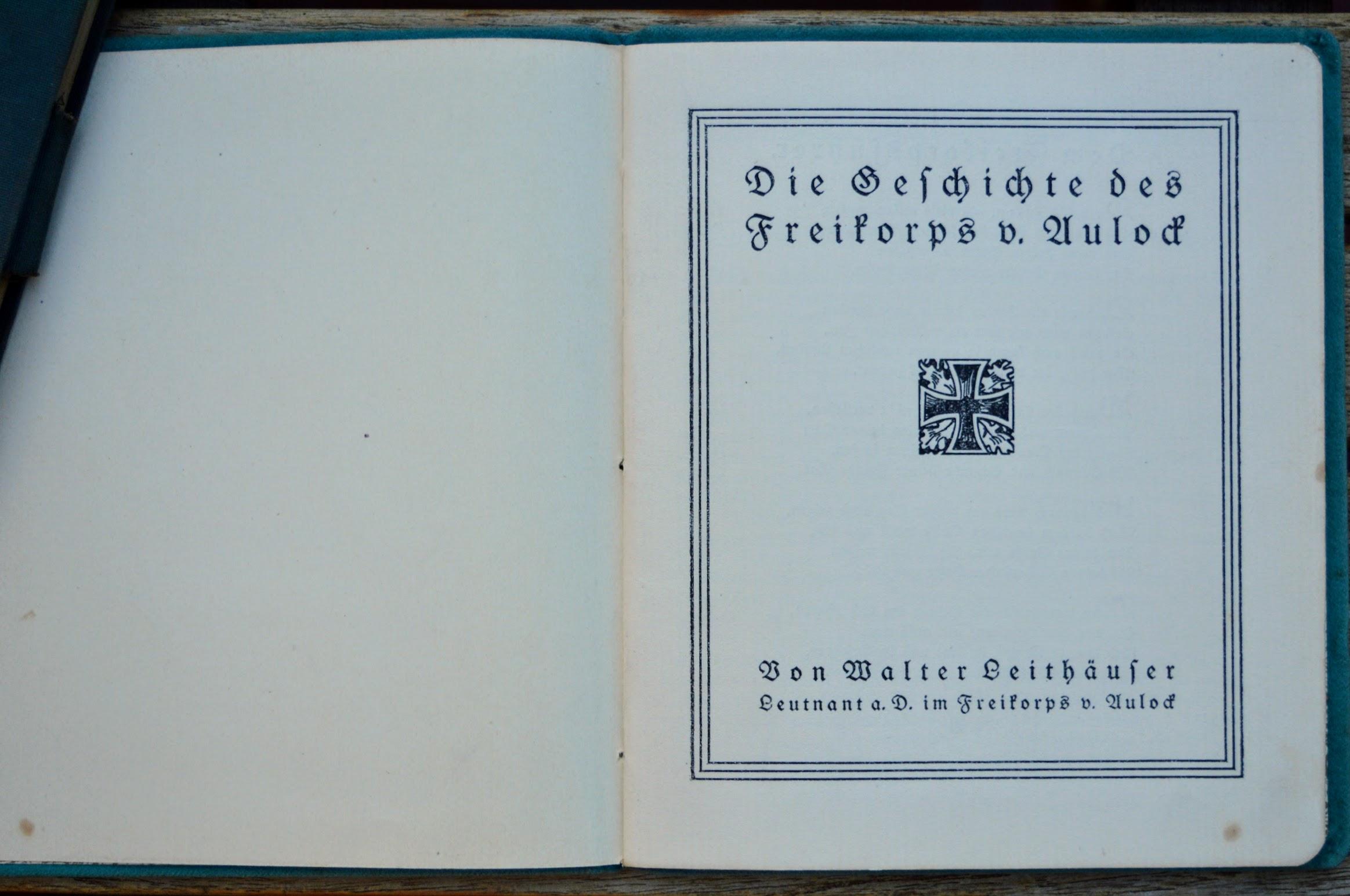 Hubertus von Aulock und sein Freikorps