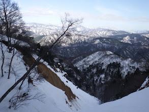 崩壊地からの眺め