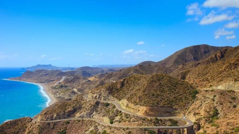 Vista aérea de Cabo de Gata