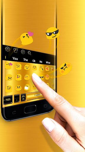 Gold Keyboard 10001039 3