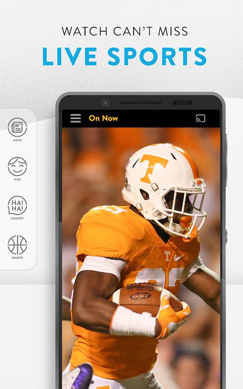 Sling TV: Get Live TV Streaming for $25/mo screenshots