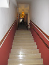 Photo: Those are the stairs up to the hotel. Yikes with heavy luggage!