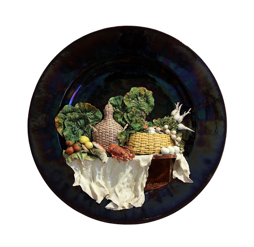 Decorative plate 'Laden Table'
