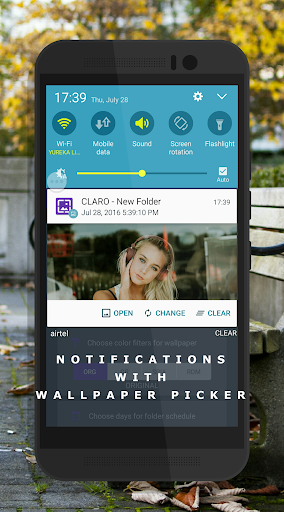 Auto Wallpaper Changer (CLARO Pro) Apps (apk) free download for Android/PC/Windows screenshot