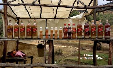 Photo: honey vendor...really