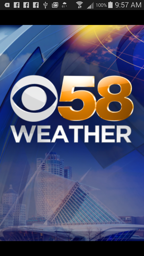 CBS58 Weather- screenshot
