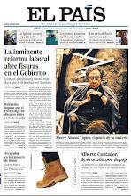 Photo: El fallecimiento de Antoni Tàpies y la inminente reforma laboral, en nuestra portada de hoy http://www.elpais.com/static/mic/portada20120207.pdf