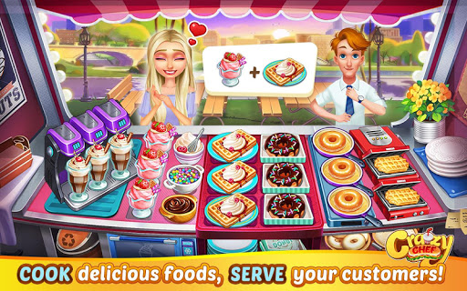 Crazy Chef: Fast Restaurant Cooking Games apkslow screenshots 7
