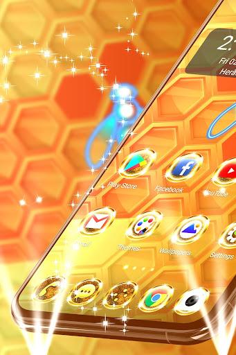 gold theme for whatsapp screenshot 1