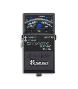 Foto do pedal Boss Tuner TU 3W