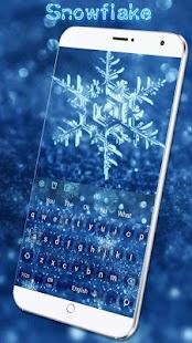 Snowflake Keyboard - náhled