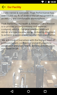 Peak Performance Health & Athl- screenshot thumbnail