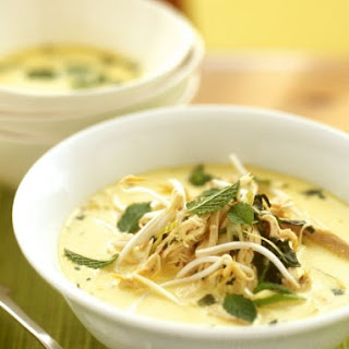 Creamy Chicken Thai Soup