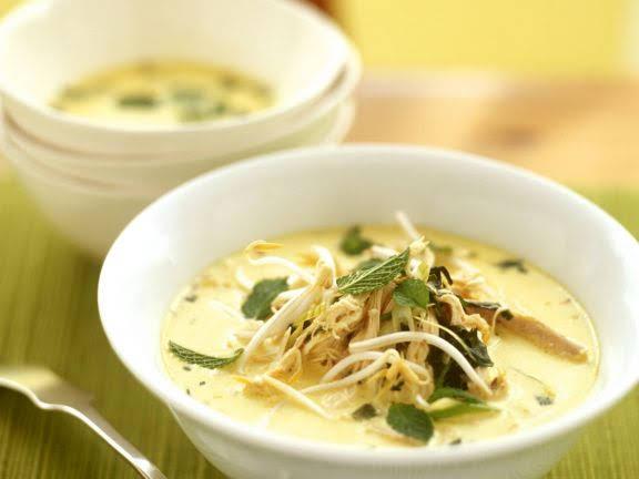 Creamy Chicken Thai Soup