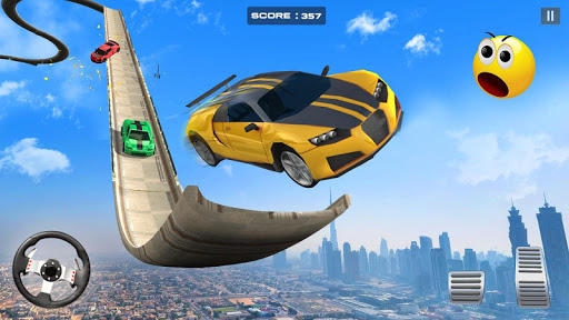 Drive Challenge – Car Driving Stunts Fun Games  captures d'écran 1