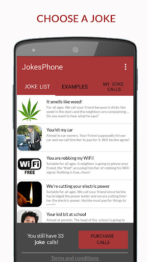 JokesPhone - Joke Calls 2.0.031218.106 screenshots 1