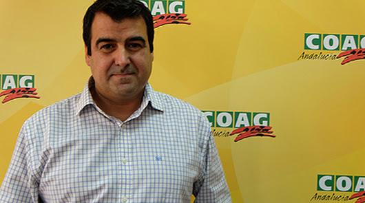 Andrés Góngora, secretario nacional de Coag para el sector de Frutas y Hortalizas.