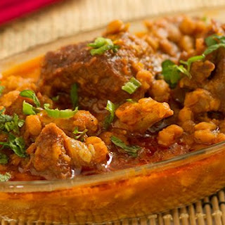 Dal Gosht -Mutton in lentil curry