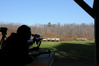Photo: Rifle Bench view  50/100/200 yd