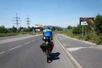 Photo: Szybko docieramy do Żyliny.