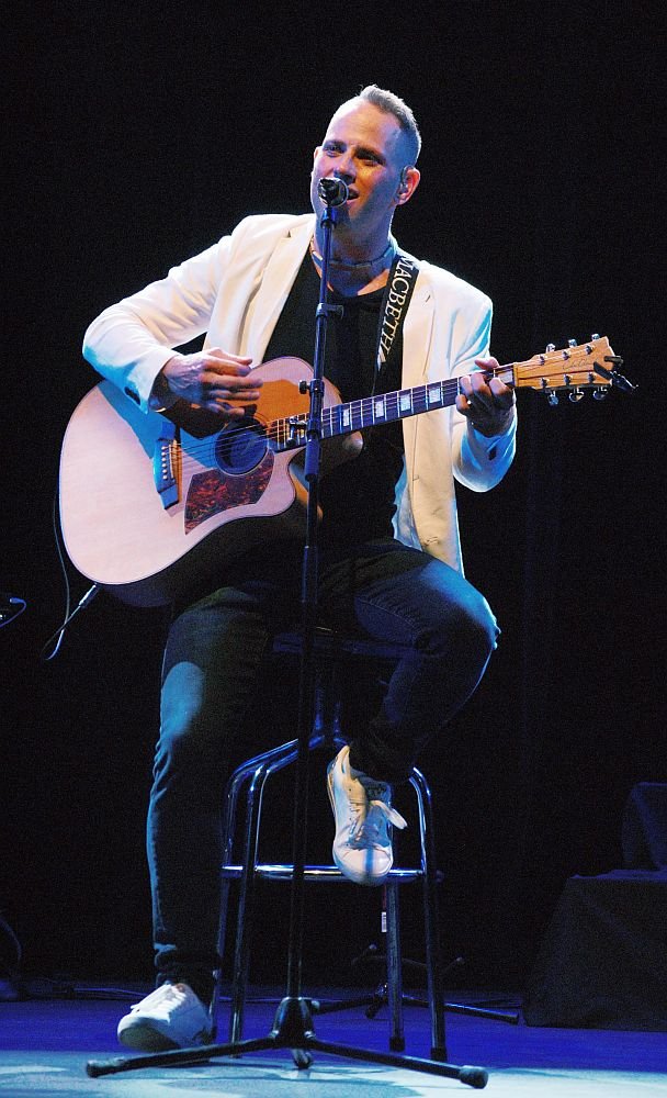 Garth Taylor celebrates 20 years in music with a concert at The Boardwalk Amphitheatre