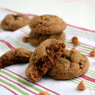 Butterscotch Molasses Pudding Cookies
