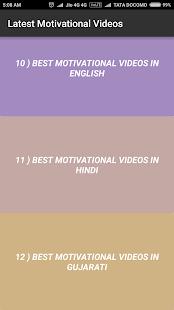 Latest Motivational Videos - náhled