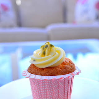 Passion Fruit Cupcakes.