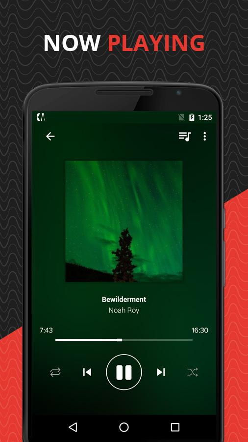 Wave Music Player- screenshot