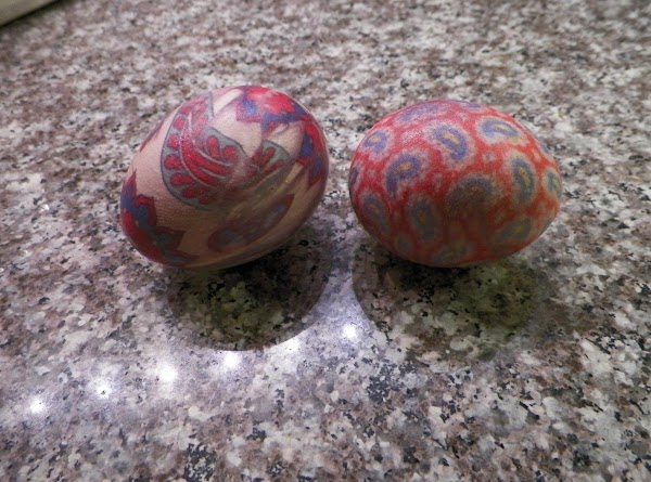 Silk Tie Dyed Eggs Recipe