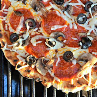 Grilled Pizza for Summer.