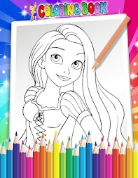 How To Color Disney Princess - Coloring Pages APK screenshot thumbnail 1