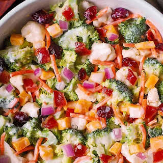 Warm Broccoli Salad Recipes.