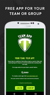 Team App – Miniaturansicht des Screenshots
