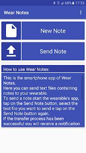 Wear Notes - Standalone Reader - náhled