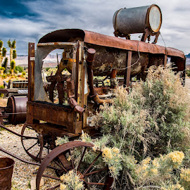 Mining Junk by Richard States - Artistic Objects Antiques ( mining, machinery, rusty, rust, antique,  )